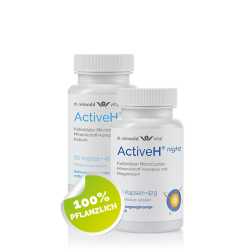 Active H® day & night...