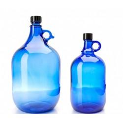Blauglas-Flaschen